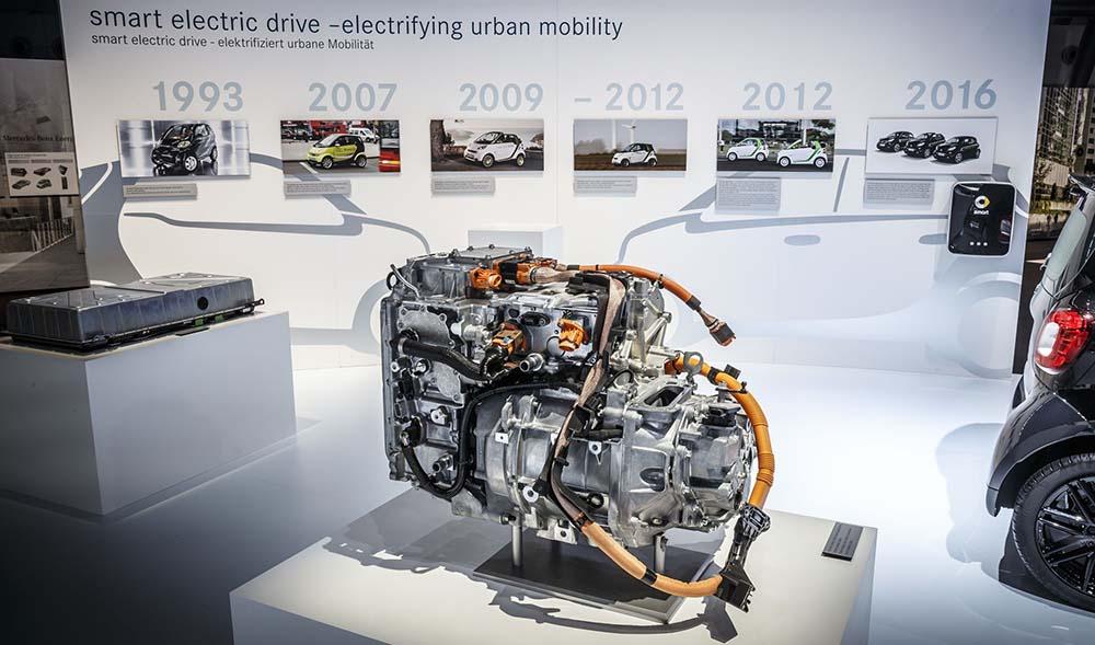 Motor Renault de los nuevos Smart eléctricos y evolución de las cuatro generaciones