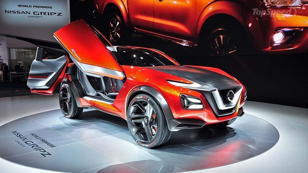 Nissan Gripz Concept en el Salón de Frankfurt de 2015
