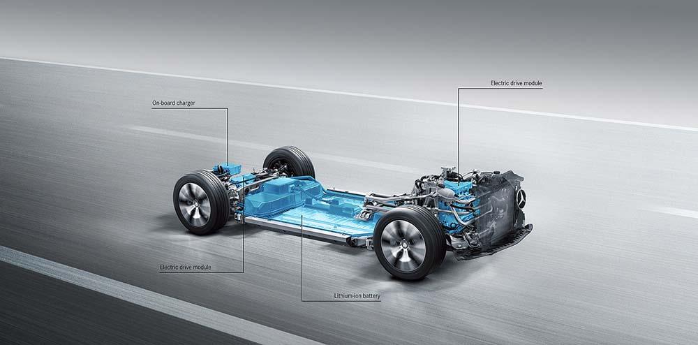 Nueva plataforma para vehículos electrificados de Mercedes-Benz