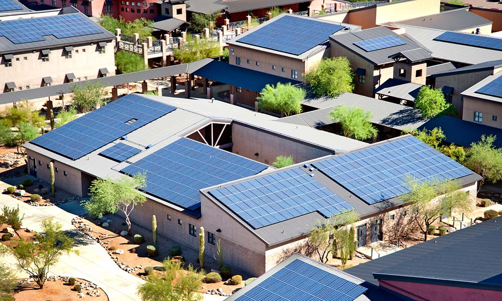 Paneles solares de SolarCity