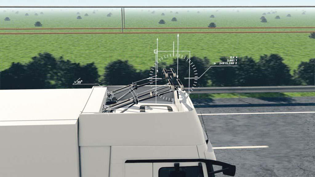 Pantógrafo inteligente eHighway de Siemens