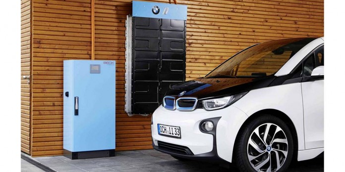 Baterías domésticas de BMWge