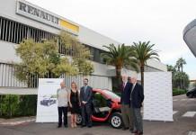 Acto de entrega en la a fábrica de cajas de velocidades de Renault en Sevilla