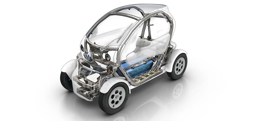 Estructura del Renault Twizy