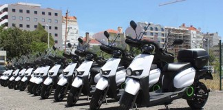 La flota de 17 Scutum que recorrerán Lisboa