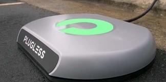 Recarga inalámbrica del Model S