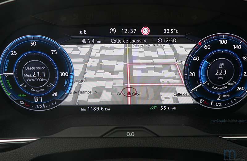 Digital Cockpit del Volkswagen Passat GTE
