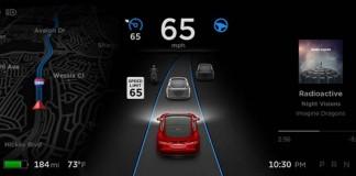 Pantalla de información del Autopilot