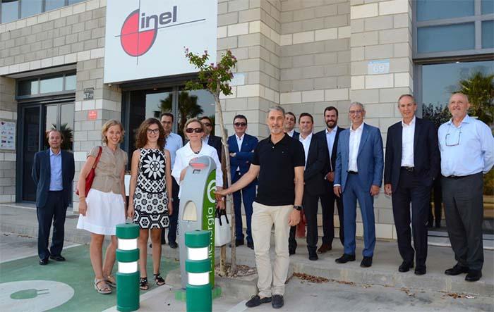Punto de Recarga del Pacto de Sevilla en Inel