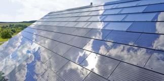 Tejado solar de Tesla