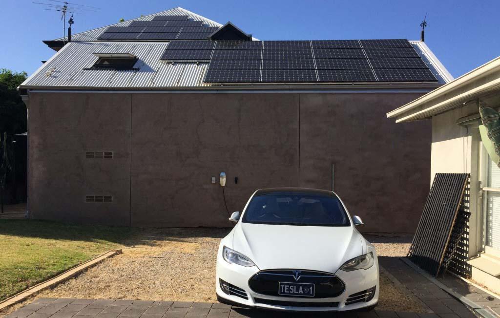 Tejado solar y Model S