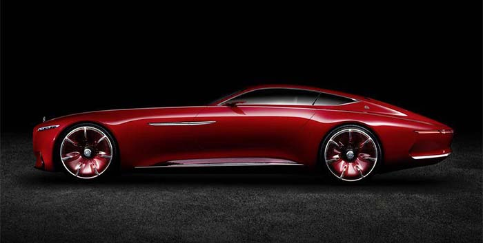 Vision Mercedes-Maybach 6 prototipo