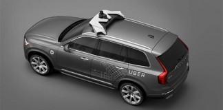 Volvo XC90 preparado para la conducción autónoma en la flota de carsharing de Uber