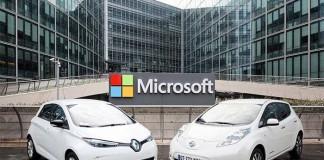 Acuerdo de colaboración entre la Alianza Renault-Nissan y Microsoft