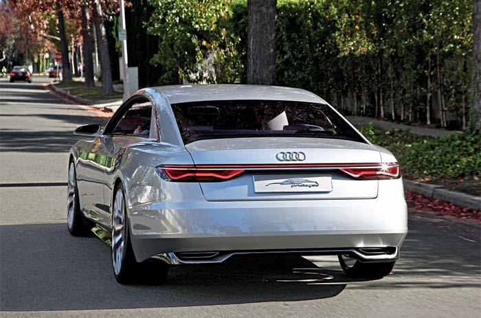 Audi A9 e-tron trasera render