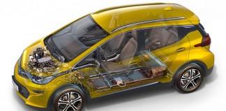 Componentes mecánicos del Opel Ampera-e