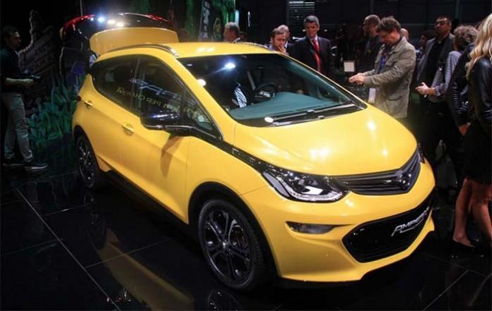 El Opel Ampera-e llega a París - foto Automobilepropre.com