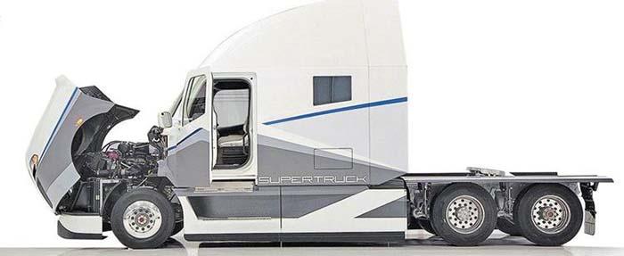El programa SuperTruck para desarrollo de nuevas tecnologías en el transporte