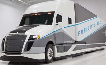 Freightliner de Daimler del programa SuperTruck