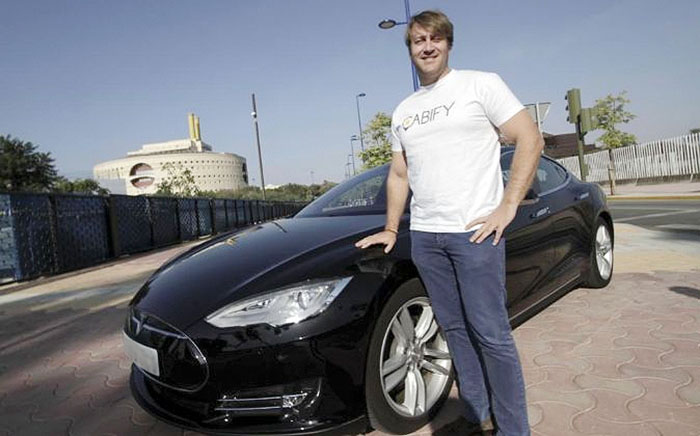 Juan de la Torre de Cabify que contará con un Model S en Sevilla - Foto Expansion