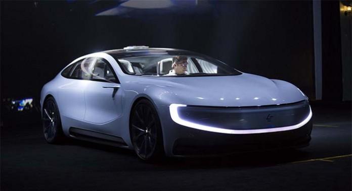 LeSEE el proyecto de coche eléctrico de Leeco
