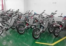 Primeras unidades de Sunbike Electric