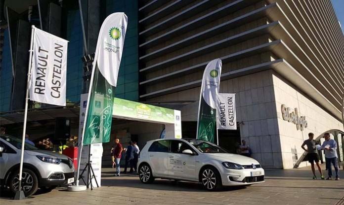 Salida del Eco Rallye de la Comunitat Valenciana de 2015