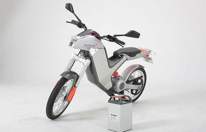 Sunbike Electric y la batería extraíble