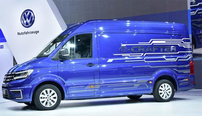 Volkswagen e-Crafter furgonetas electricas