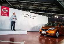 Carlos Ghosn presenta el Nissan e-Power en el nuevo Note