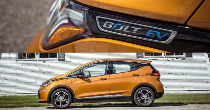 El Chevrolet Bolt recorre 300 kilómetros. Fotos de Car&Driver