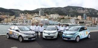 El Renault Zoe en el e-Rallye de Montecarlo