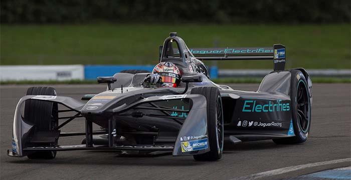 El alerón de los monoplazas de la tercera temporada de la Fórmula E