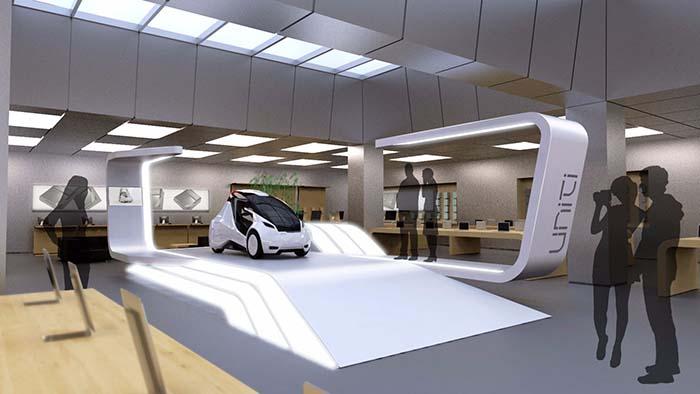 El coche eléctrico de Uniti