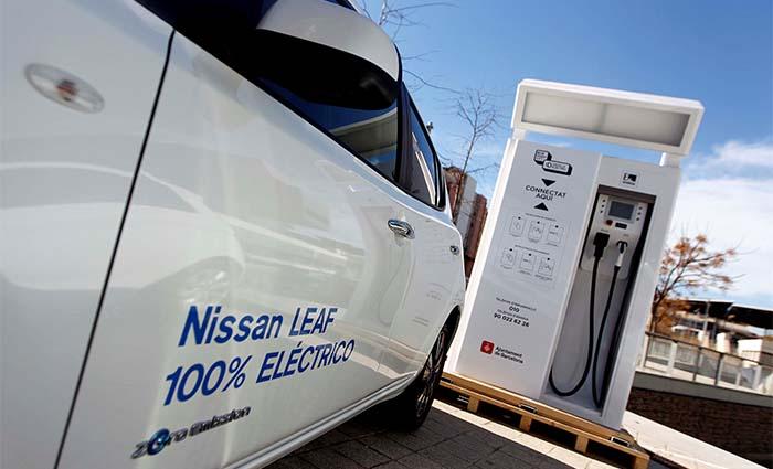 La red de recarga rápida de Nissan en Alemania