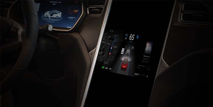 Versión 8.0 del Autopilot de Tesla