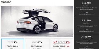 Versiones disponibles. El Tesla Model X 60D sale del catálogo