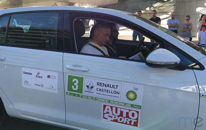 Volkswagen e-Golf en el EcoRallye de la Comunidad Valenciana