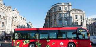 Autobuses eléctricos de Irizar en Londres