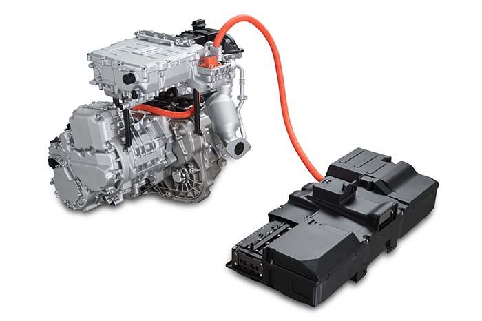 Componentes del Nissan E-Power