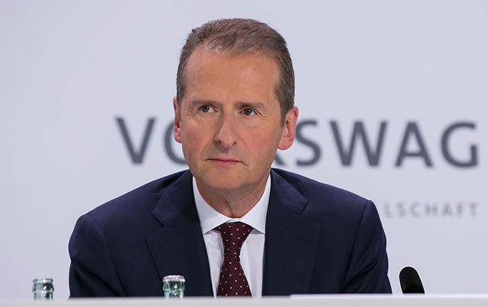 Herbert Diess, miembro del consejo de administración de Volkswagen