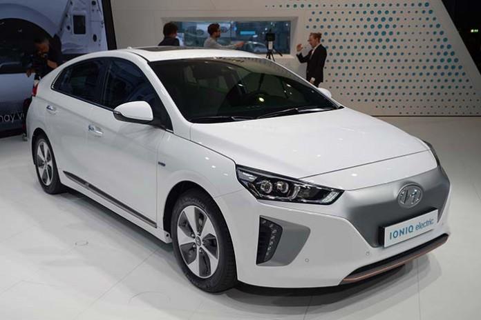 Hyundai Ioniq con 320 kilómetros de autonomía en 2018