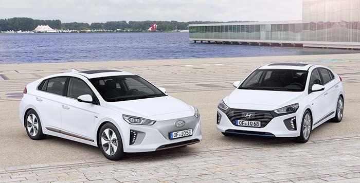 Hyundai Ioniq híbrido y eléctrico