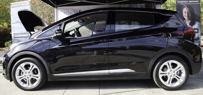 La fábrica de Orion sería capaz de producir 90.000 unidades del Chevrolet Bolt