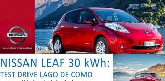 Nissan Leaf de 30 kWh