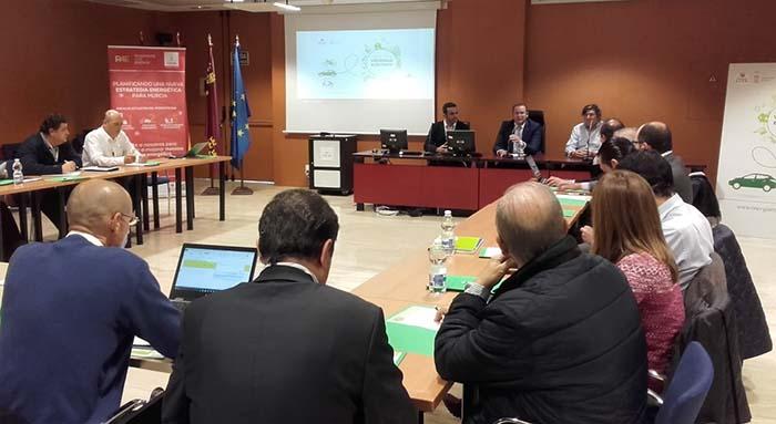 Mesa de trabajo vehículo eléctrico en Murcia
