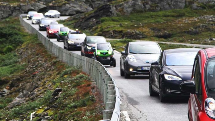 500 millones de vehículos eléctricos en 2030