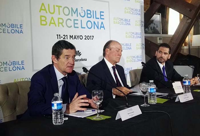 Presentación del Salón del Automóvil de Barcelona en Madrid