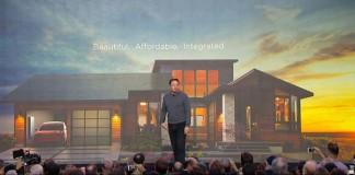Presentación del tejado solar de Tesla