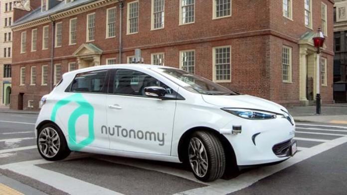 Taxi eléctrico y autónomo de nuTonomy en Boston